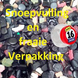 Snoeppotjes Vulling en Verpakking