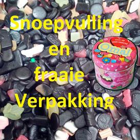 Snoepbusjes Vulling en Verpakking