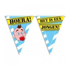 Party vlag Geboorte jongen