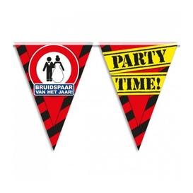 Party vlag Bruidspaar
