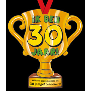 Party Trofee 30 jaar