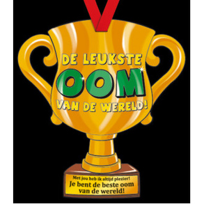 Party Trofee Leukste oom