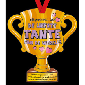 Party Trofee Liefste tante