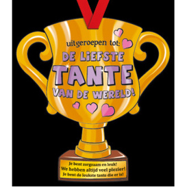Party Trofee Liefste tante