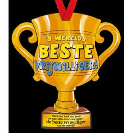 Party Trofee Beste vrijwilliger