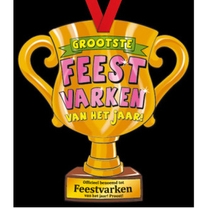Party Trofee Feestvarken