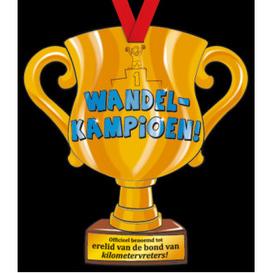 Party Trofee Wandelkampioen