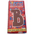 Tony's Chocolonely letter B