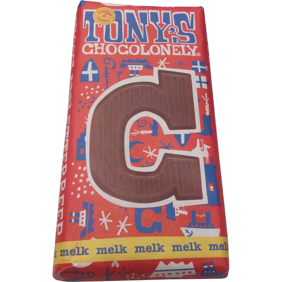 Tony's Chocolonely letter C