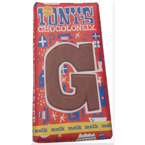 Tony's Chocolonely letter G