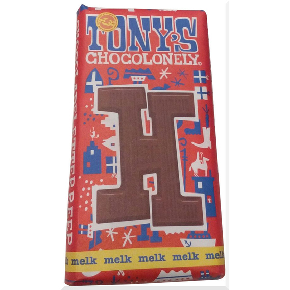 Tony's Chocolonely letter H