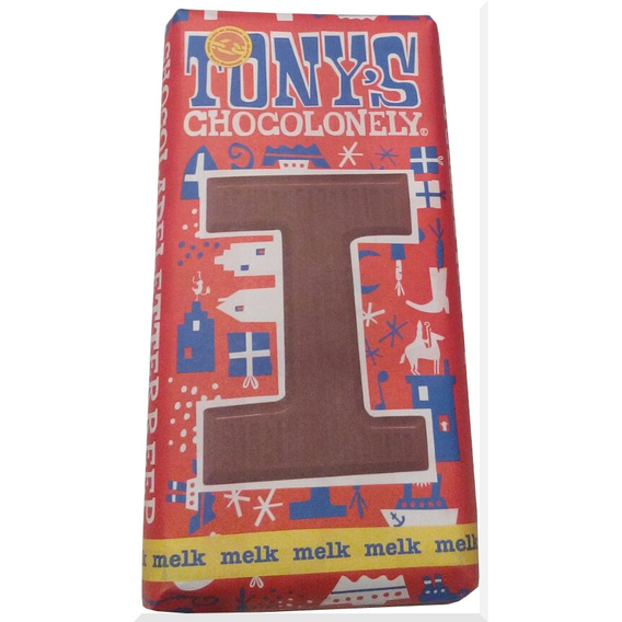 Tony's Chocolonely letter I