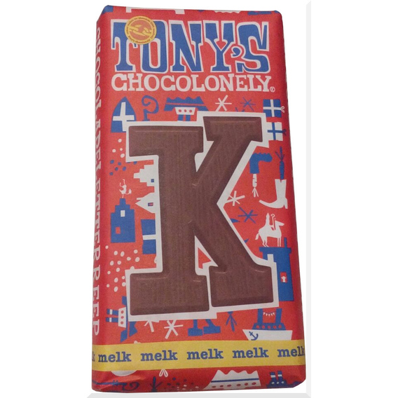 Tony's Chocolonely letter K