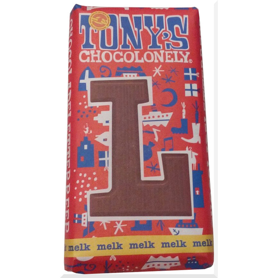 Tony's Chocolonely letter L