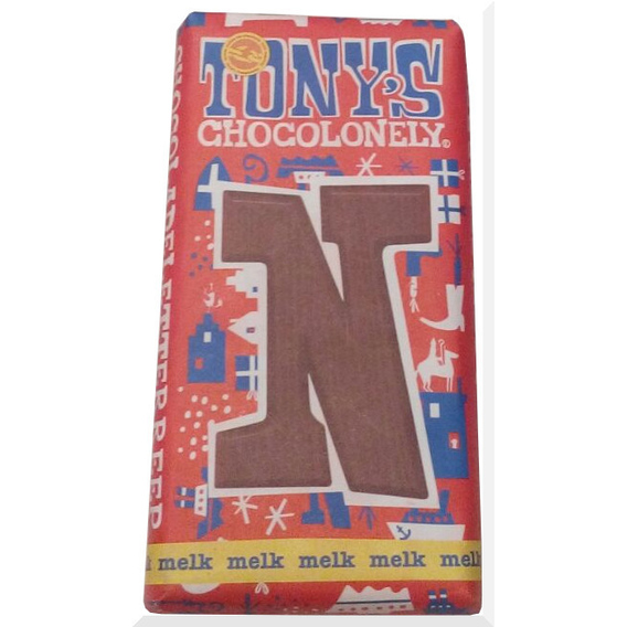 Tony's Chocolonely letter N
