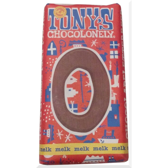 Tony's Chocolonely letter O