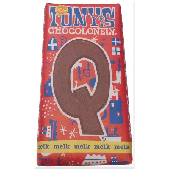 Tony's Chocolonely letter Q