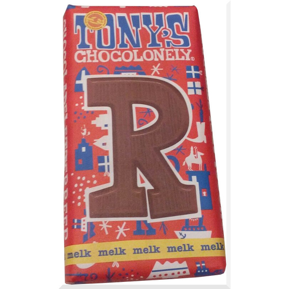 Tony's Chocolonely letter R