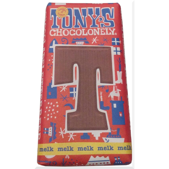 Tony's Chocolonely letter T