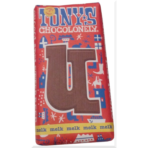 Tony's Chocolonely letter U
