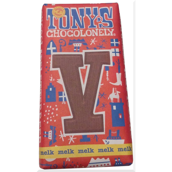 Tony's Chocolonely letter V