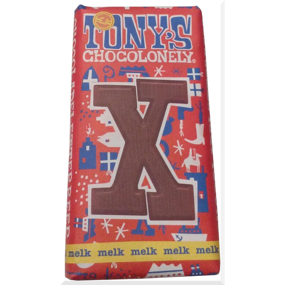 Tony's Chocolonely letter X