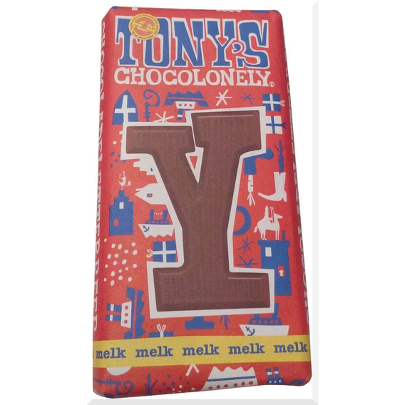 Tony's Chocolonely letter Y
