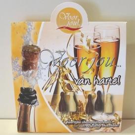 Voor Jou Van harte champagne